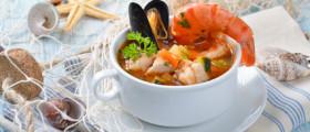 Schmackhafte Fischsuppe