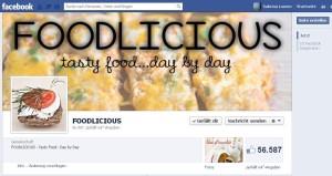 Facebook Fanpage Foodlicious
