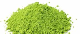 Aus diesem Pulver wird Matcha Tee hergestellt (Quelle: istockphoto)
