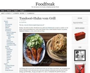 Leckere Rezepte mit einfacher Beschreibung (Quelle: www.foodfreak.de)