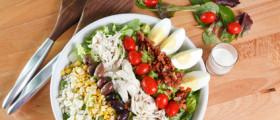 Cobb Salad: einfach und lecker. (Quelle: fotolia)