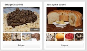 Fotos unterstreichen die Rezepte. (Quelle: terragina.de/blog/ )