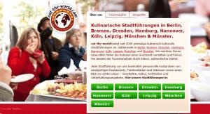 Einmalige, kulinarische Stadtführungen. (Quelle: www.eat-the-world.com)