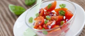 Bild eines Tomatensalats
