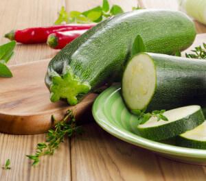 Zucchini ist ein besonders mildes Gemüse