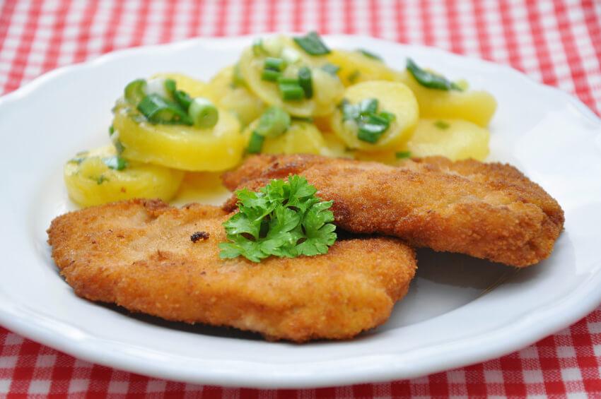 Außergewöhnlich Klassisch und lecker: Wiener Schnitzel | Feinschmecker Aktuell #VF_78