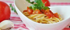 Spaghetti, Tomaten